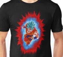 Super Saiyan God KaioKen Goku (Dragon Ball Super) Unisex T-Shirt