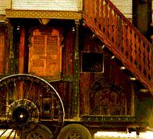 Victorian Steampunk Gypsies Sticker