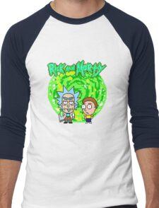 8-bit Universe Rick and Morty Men's Baseball ¾ T-Shirt