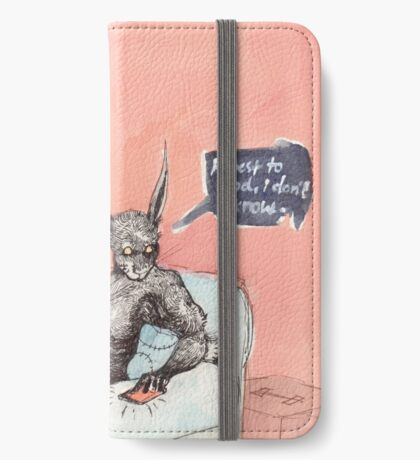 Did she love you? iPhone Wallet/Case/Skin