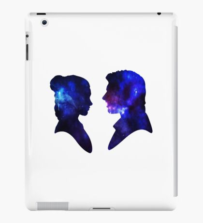Love Story - Han and Leia iPad Case/Skin