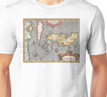 Map of Japan - Ortelius - 1603 Unisex T-Shirt