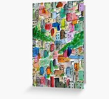 Mexican Hillside Greeting Card