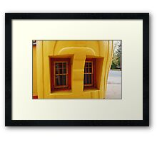"""Old """"Shell Shaped"""" Shell Service Station Framed Print"""