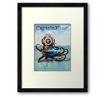 Captain Nemo Framed Print