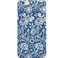 Indigo and White William Morris Pattern iPhone Case/Skin