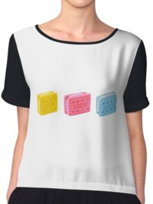 colorful biscuits! Chiffon Top