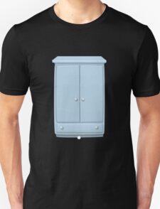 Glitch bag furniture cabinet powdered blue cabinet T-Shirt