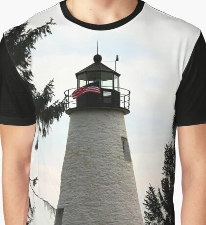 Concord Point Lighthouse, Maryland Graphic T-Shirt