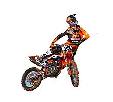 musquin #25 marvin free style Photographic Print