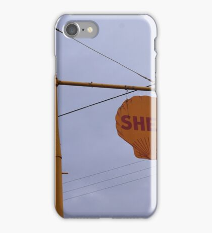 Antique Shell Sign iPhone Case/Skin