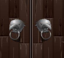 Glitch bag furniture cabinet rook  cabinet Sticker