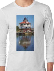 Drum Point Lighthouse, Maryland Long Sleeve T-Shirt