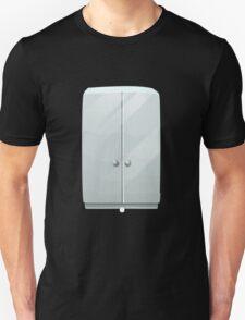 Glitch bag furniture cabinet simply white cabinet T-Shirt