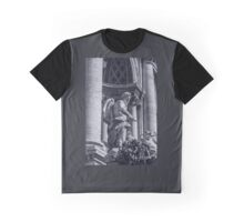 Rome - The Trevi Fountain Graphic T-Shirt