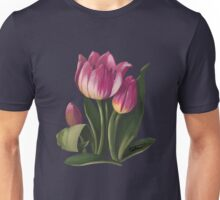 Tulips and shadows - acrylic painting Unisex T-Shirt
