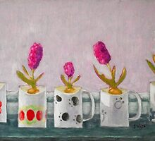Oh, Give Us Pleasure in the Flowers Today! by Jennifer Wyse