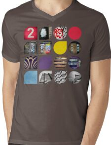 Cold Comfort Collage — The Streets Mens V-Neck T-Shirt