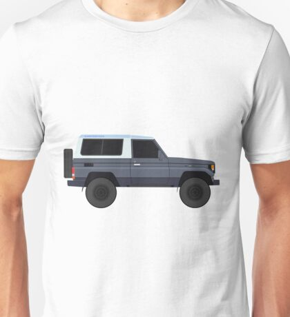 Toyota Land Cruiser  HZJ73 (machito) (renati.rzdm@gmail.com) Unisex T-Shirt
