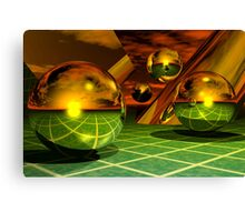 Noble Metal Worlds Canvas Print