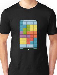 Glitch bag furniture cabinet tetromino cabinet Unisex T-Shirt