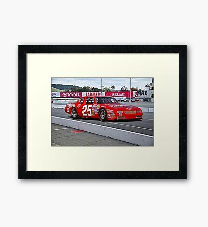 Early NASCAR Chevrolet Framed Print