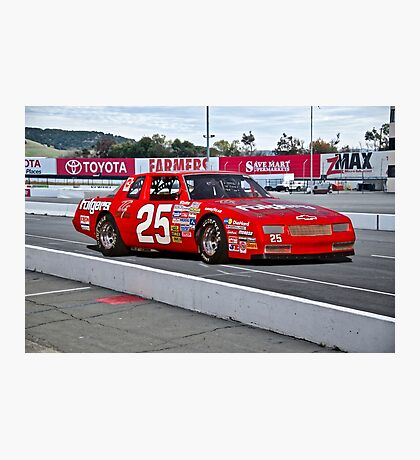 Early NASCAR Chevrolet Photographic Print
