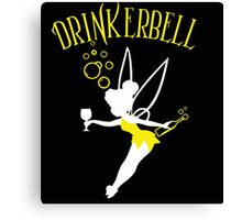 Drinkerbell yellow color Canvas Print