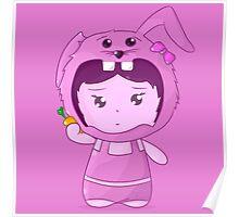 Chibi bunny Poster
