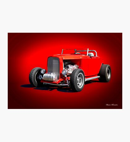 1932 Ford 'Dry Lakes' Roadster Photographic Print