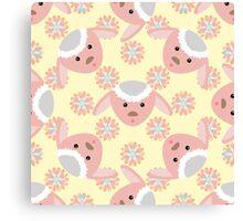 Pink Lamb Canvas Print