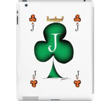 Lucky Jack of Clubs by Tony Fernandes iPad Case/Skin