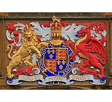 Sherborne School Coat of Arms Photographic Print