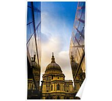 St Paul's from New Change Poster