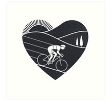 Love Cycling  Impression artistique