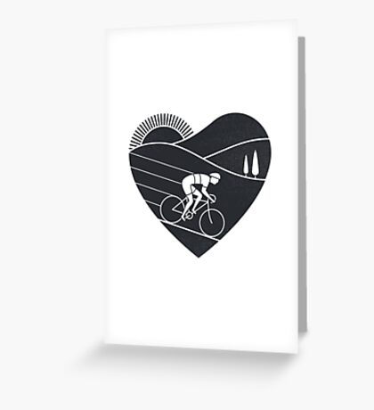 Love Cycling  Greeting Card