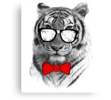 Be Tiger Smart Canvas Print