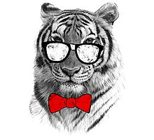Be Tiger Smart Photographic Print