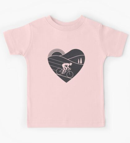 Love Cycling  Kids Tee