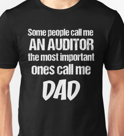 T-Shirt Funny Definition Auditor Dad Unisex T-Shirt