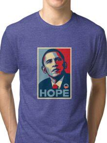 obama hope t-shirt Tri-blend T-Shirt