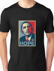 obama hope t-shirt Unisex T-Shirt