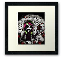 Skull Kid and more Skulls Framed Print