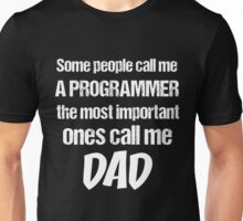 T-Shirt Funny Definition Programmer Dad Unisex T-Shirt