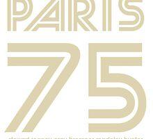 PARIS 75  by RighteousBear