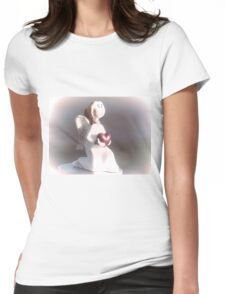 Angel........... Womens Fitted T-Shirt