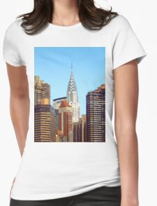 The Chrysler Womens Fitted T-Shirt