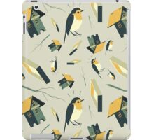 Flying Birdhouse (Pattern) iPad Case/Skin