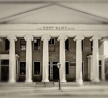 Bank in New Bedford by Sabine Edrissi