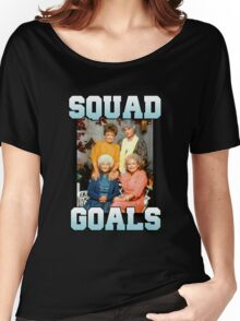 Golden Girls Squad Goals Women's Relaxed Fit T-Shirt